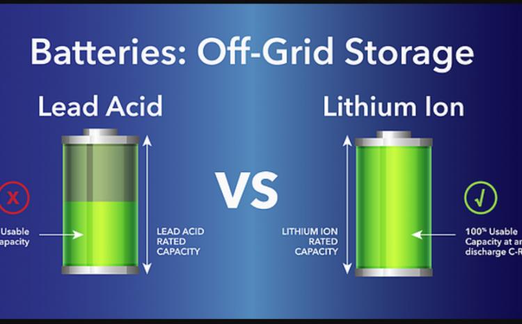 Lithium Ion Vs. Lead Acid